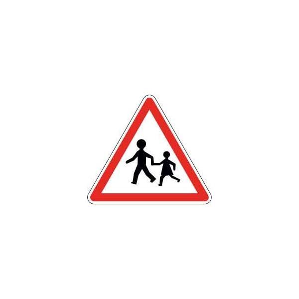 Panneau Attention Ecole - Enfants
