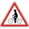 Panneau Attention Cyclistes