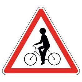 Panneau Attention Cyclistes
