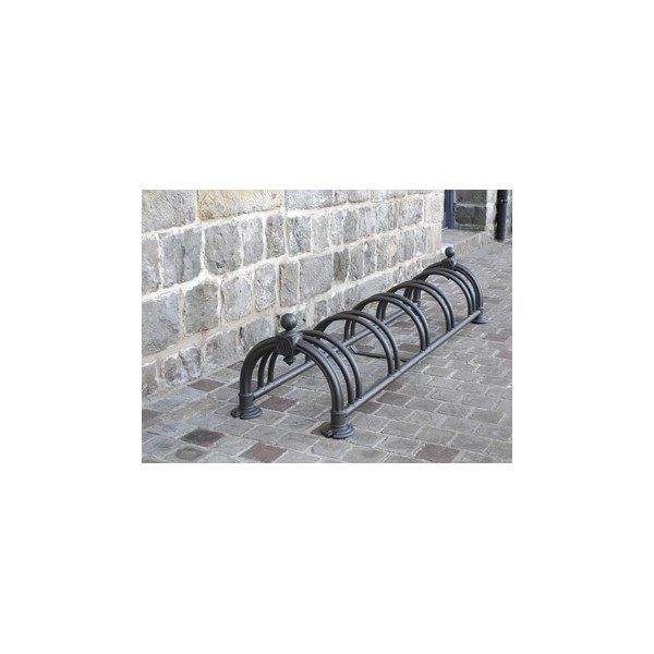 Range vélos Versailles 5 vélos noir