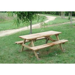Table de pique-nique Forestière
