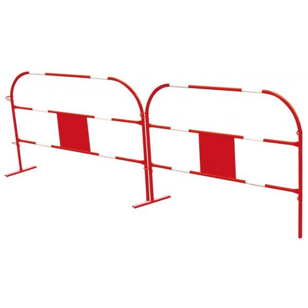 Barrière ECO blanc et rouge