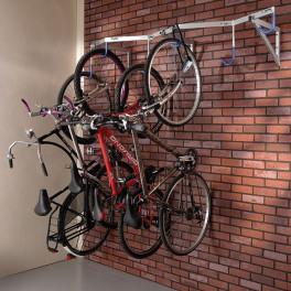 Range vélos suspendu 6 place