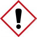 Pictogramme SGH07 Danger en vinyle laminé 40x40mm
