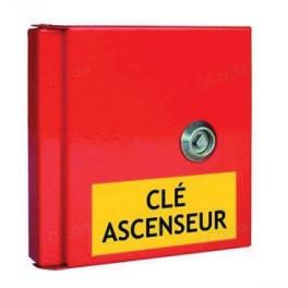 Boîte à clés pour local technique - 3 étiquettes autocollantes