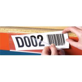 Porte-note magnétique - par 50 - 25 x 200 mm