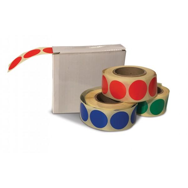 Boite distributrice Pastilles - plusieurs couleurs - plusieurs diamètres