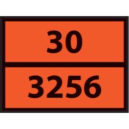 Plaque ADR pour camion Dérivé du Gasoil - 400x300mm