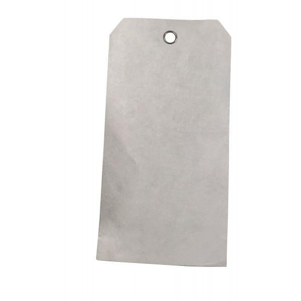 Plaquette d'inspection / Etiquettes Tyvek oeillet métal - 4 formats