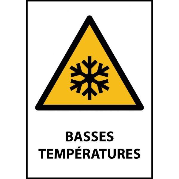 Panneau de danger iso en 7010 basses temp ratures w010 - Table basse panneau signalisation ...