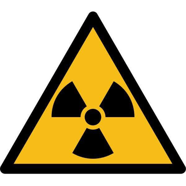 """Pictogramme de Danger """"Radioactivité"""""""