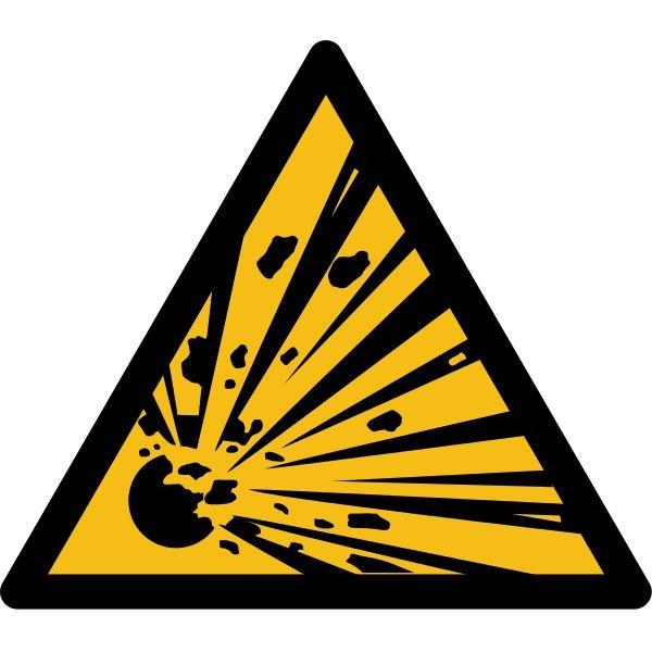 """Pictogramme de Danger """"Produit explosif"""""""