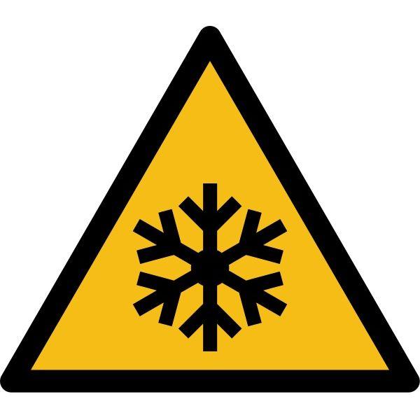 """Pictogramme de Danger """"Basses températures"""""""