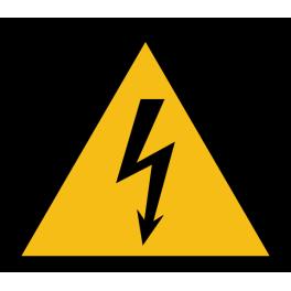 """Pictogramme de Danger """"Electricité"""""""