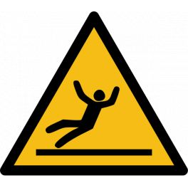 "Pictogramme de Danger ""Surface glissante"""