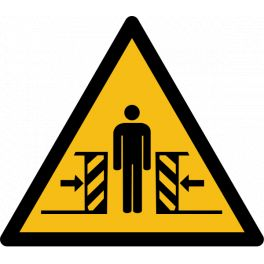 "Pictogramme de Danger ""Ecrasement"""