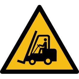 """Pictogramme de Danger """"Chariots élévateurs et autres véhicules industriels"""""""