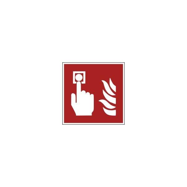 Signalétique Evacuation Point d'alarme incendie ISO EN 7010