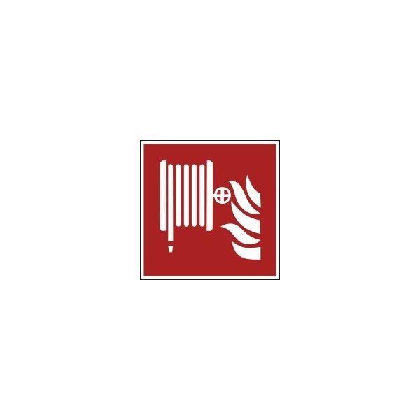 """Panneau ISO EN 7010 """"Robinet Incendie Armé"""" (RIA) F002"""