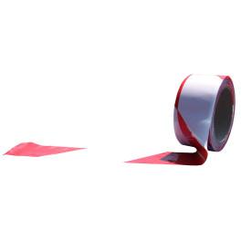 Rubalise coloris blanc et rouge biodégradable