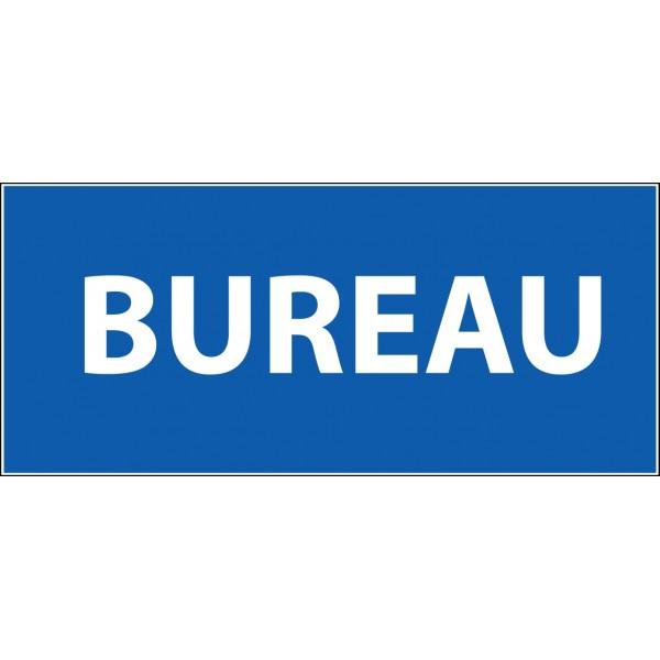 Panneau d'information Plat PVC - Bureau