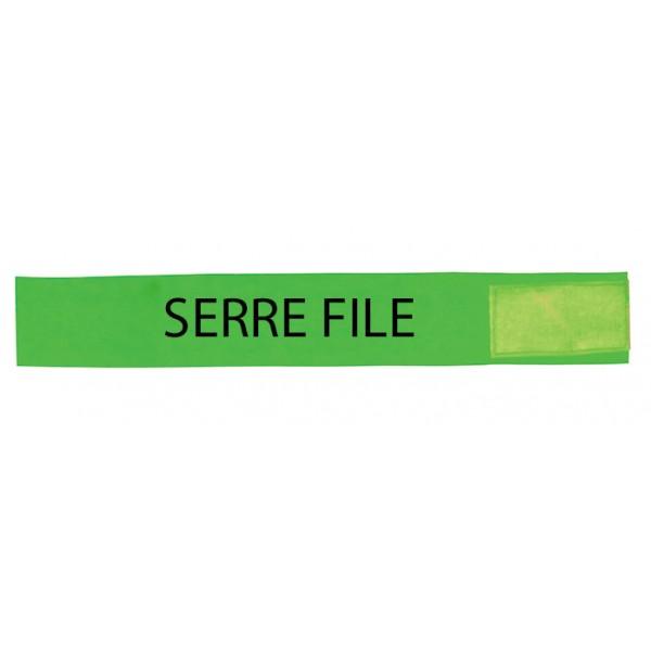 Brassard Vert PVC Serre file