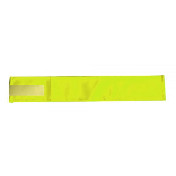 Brassard Jaune ou orange PVC Vierge