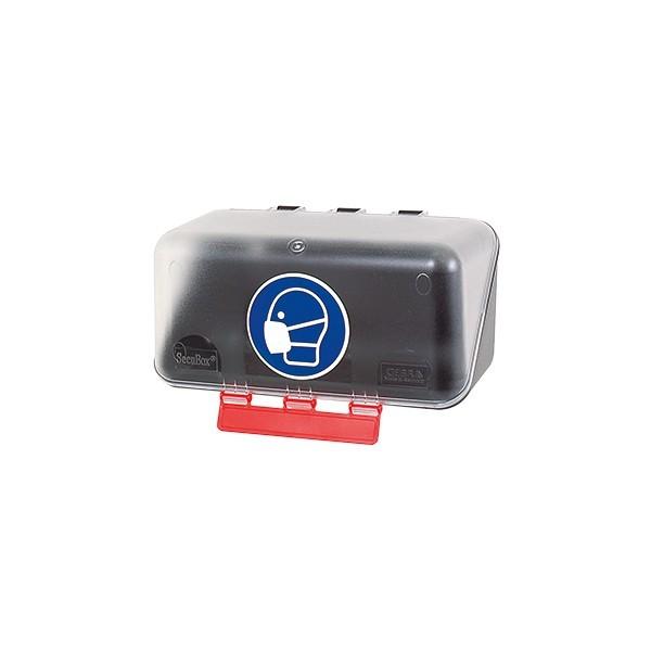 bo tier de rangement transparent des epi pour les protections respiratoires epiboxi securinorme. Black Bedroom Furniture Sets. Home Design Ideas