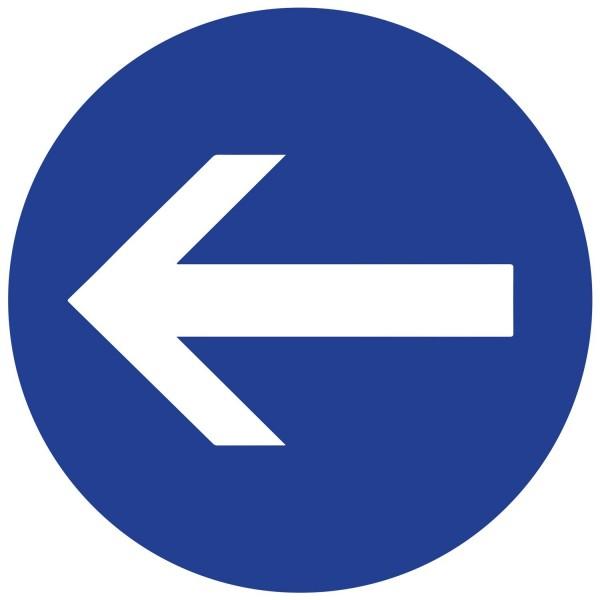Panneau de circulation Plat Aludibond - Flèche direction
