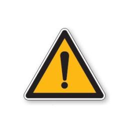 Panneau de circulation Plat Aludibond - Danger