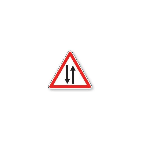 Panneau de circulation Plat Aludibond - Circulation dans les 2 sens