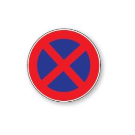 Panneau de circulation Plat Aludibond - Stationnement interdit