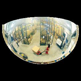 Miroir hémisphérique de sécurité - 1/4 - Polymir - 3 tailles