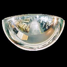 Miroir hémisphérique de sécurité - 1/4 - PMMA - 3 tailles