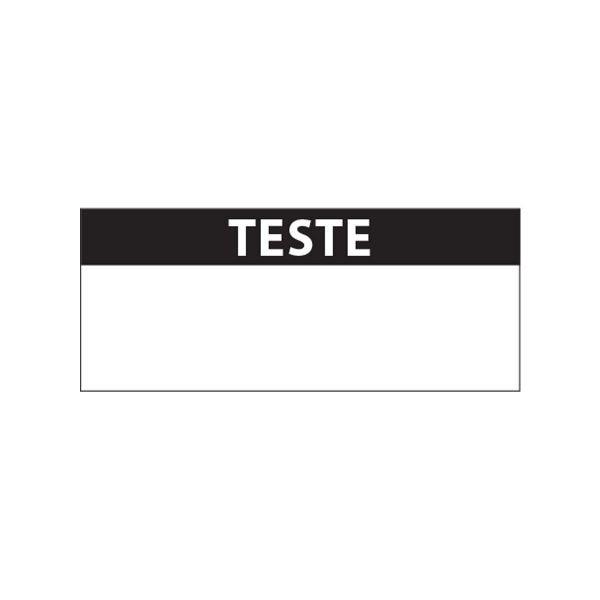 """Lot étiquettes d'inspection """"Testé"""" tissu plastifié"""