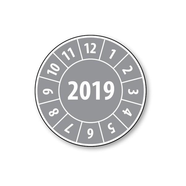 Pastille calendrier année complète 2019 - 4 matériaux