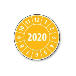 Pastille calendrier année complète 2020- 4 matériaux