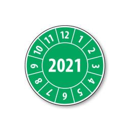 Pastille calendrier année complète 2021- 4 matériaux