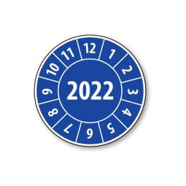 Pastille calendrier année complète 2022- 4 matériaux