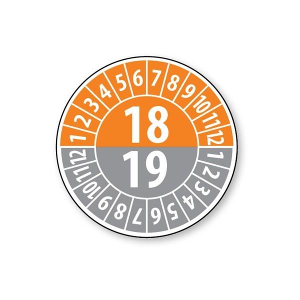 Pastille calendrier année double 2018/2019 - 4 matériaux
