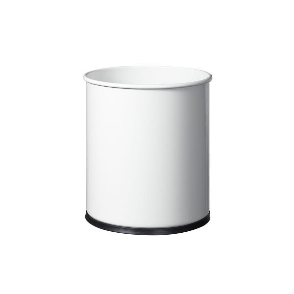 Corbeille à papier ECO - 15 L - Blanc