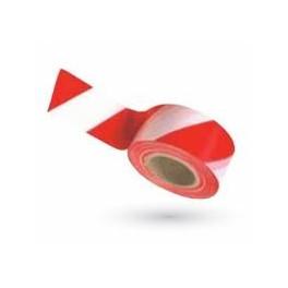 Ruban de signalisation - Rouge et blanc