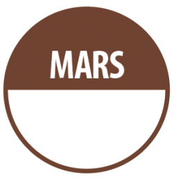 Pastilles MARS avec zone de texte