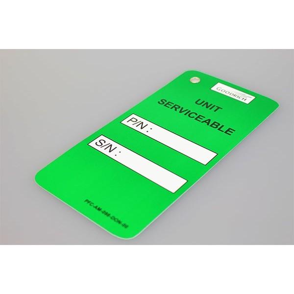 Etiquettes Métal - 5 formats 5 couleurs