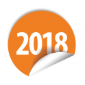 """Pastilles avec année """"2018"""""""