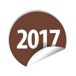 """Pastilles avec année """"2017"""" à """"2020"""""""