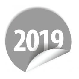 """Pastilles avec année """"2019"""""""