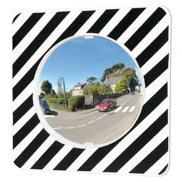 Miroir de circulation rond - Polymir - diam 600 mm
