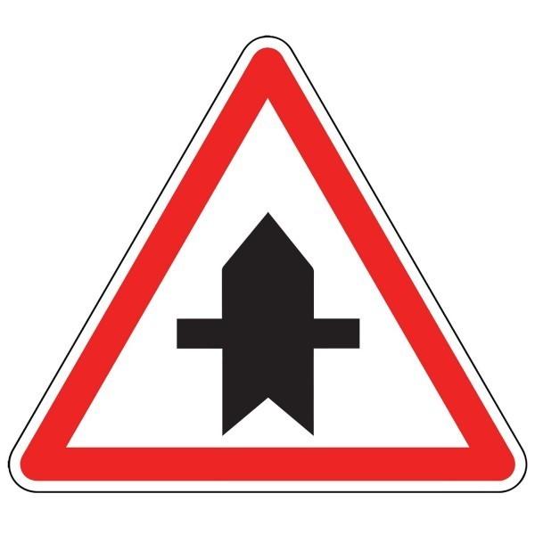 Panneau d'Intersection AB2 : Priorité Ponctuelle