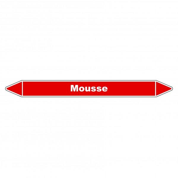 """Marqueur de Tuyauterie """"Mousse"""" en Vinyle Laminé"""